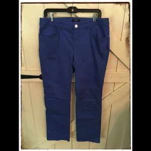 Size 12 Chaps Straight Leg Jean~Blue- Fair Shape